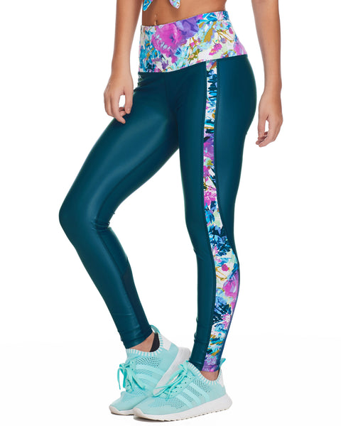 Venus Performance Legging - Oceanic