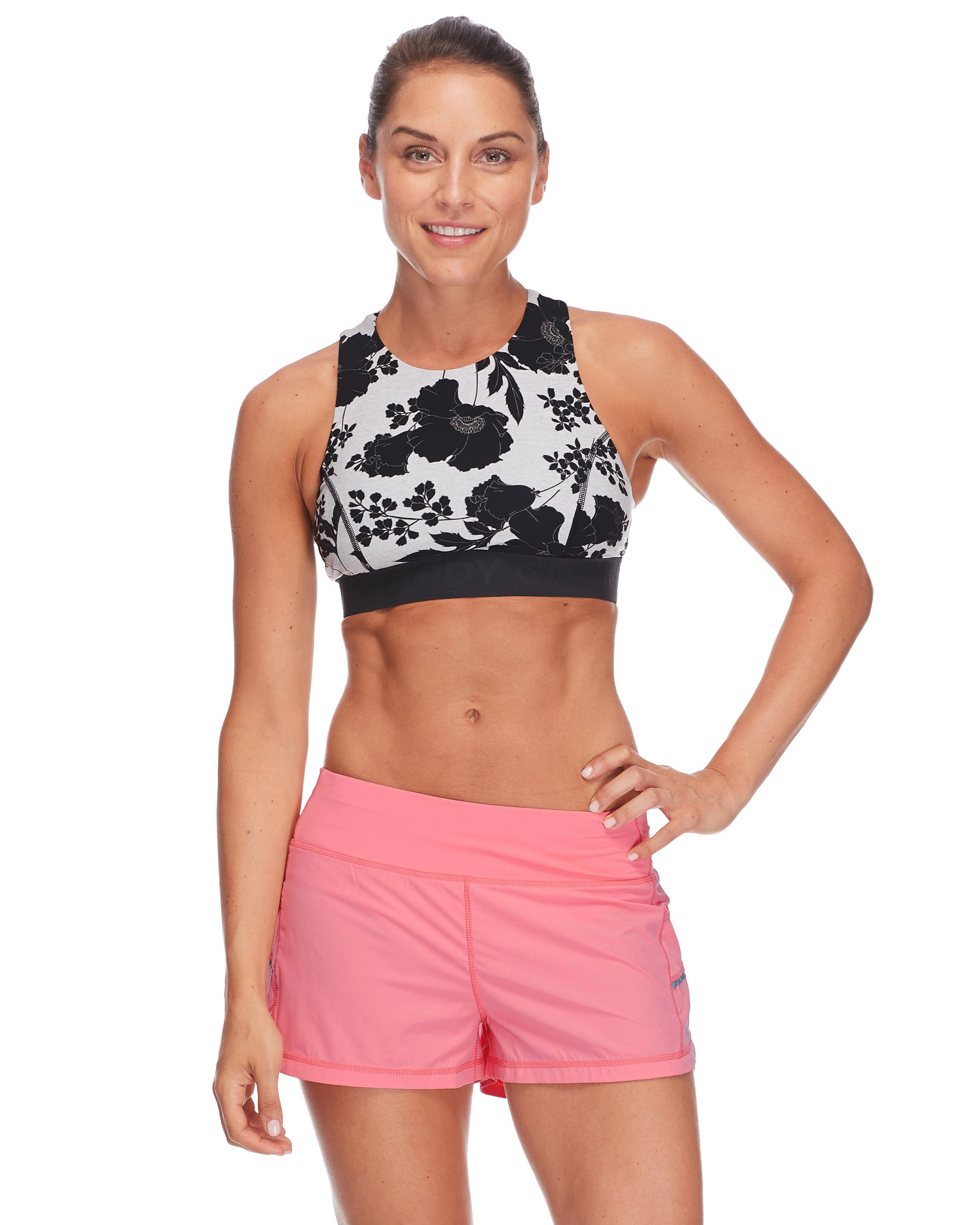Tune Medium-Support Sports Bra in Waitomo - Black