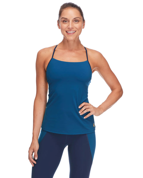 Zephyr Racer-Back Tank Top in Alpine - Alpine