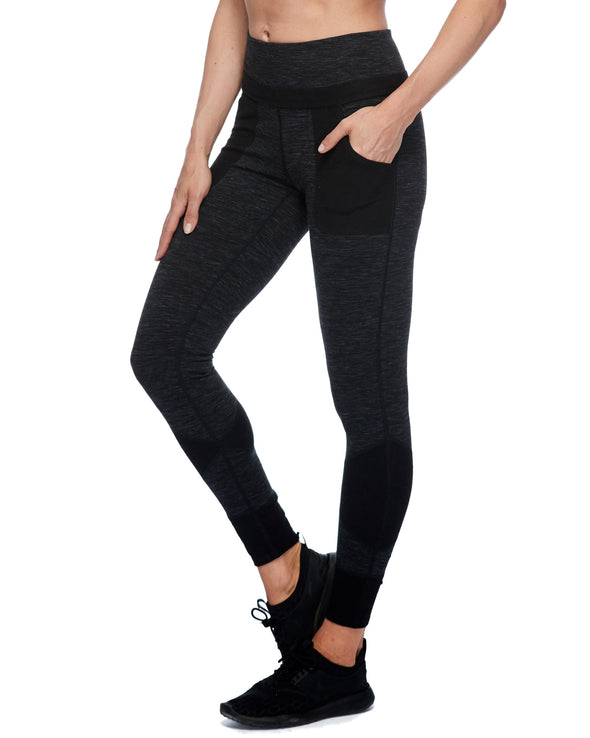 Olina Jogger Women's Pant - Black Heather