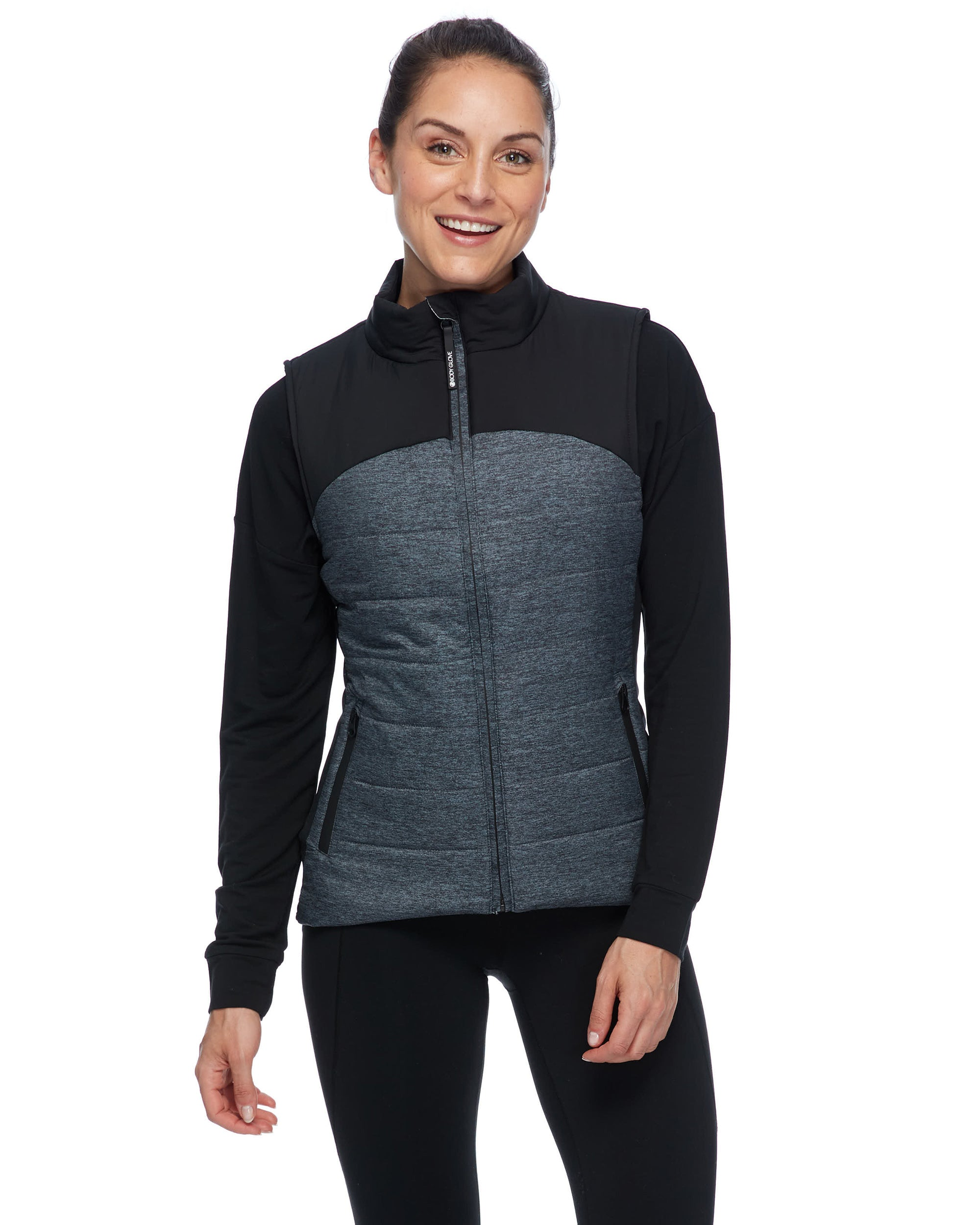 Gita Insulated Women's Vest - Black