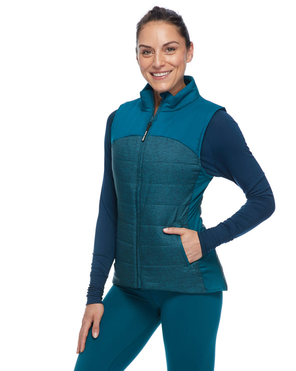 Gita Insulated Women's Vest - Oceanic