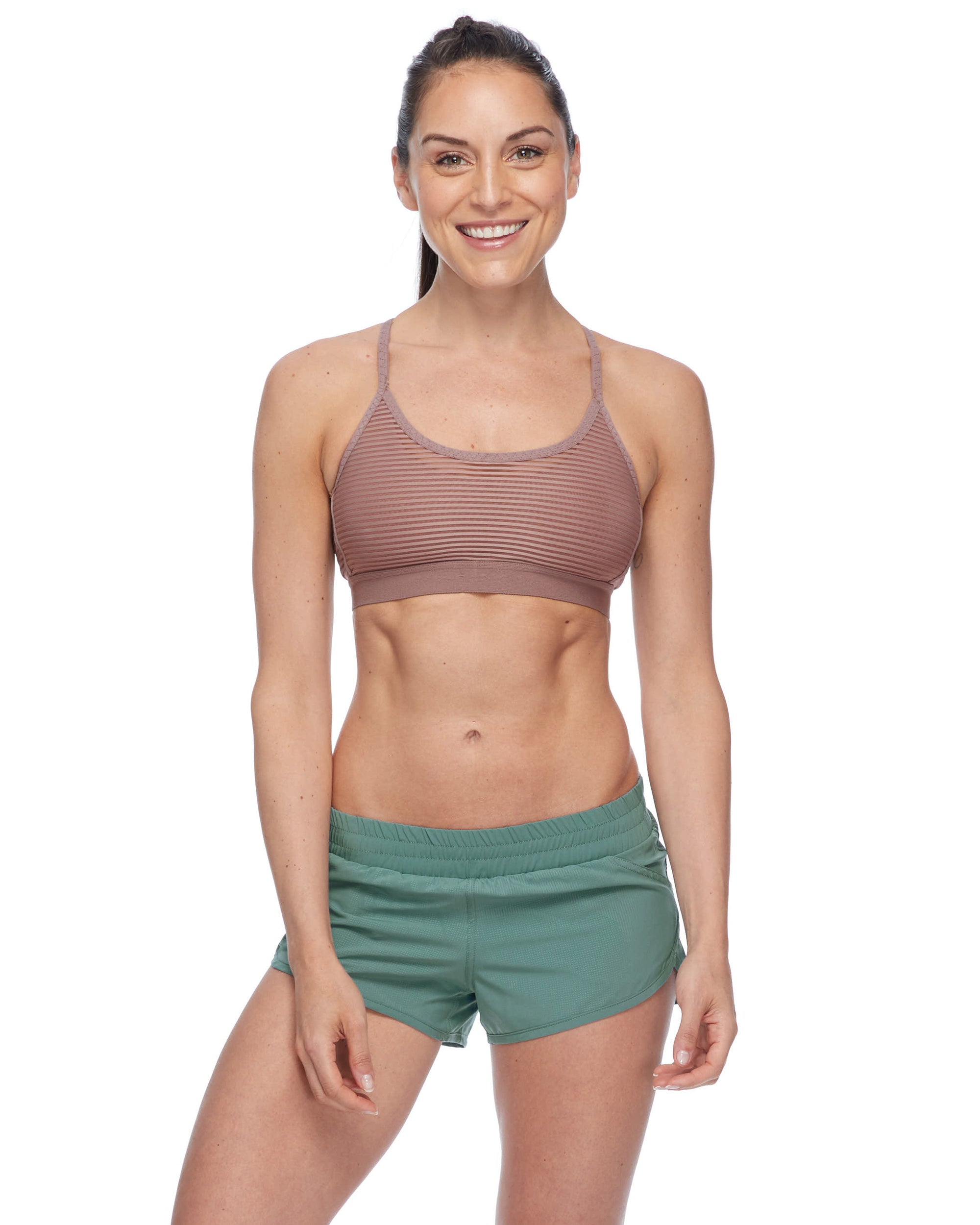 Sunna Eco Light-Support Sports Bra - Mocha