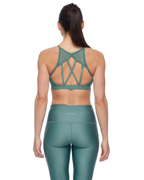 Sunna Eco Light-Support Sports Bra - Moss