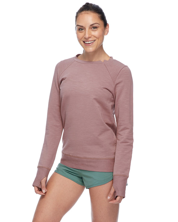 Eir Eco Women's Sweatshirt - Mocha