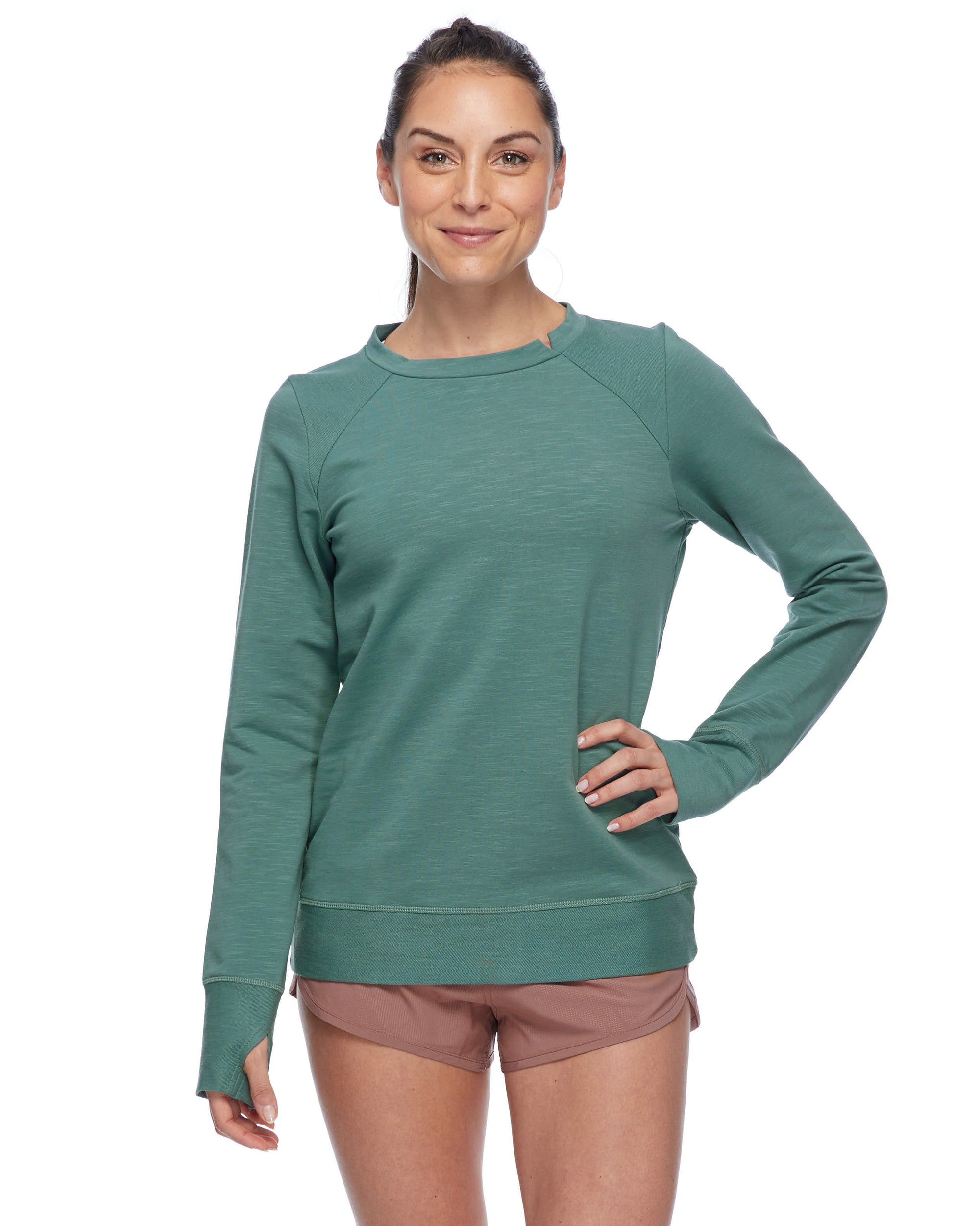 db8357db Eir Eco Women's Sweatshirt - Moss – Body Glove