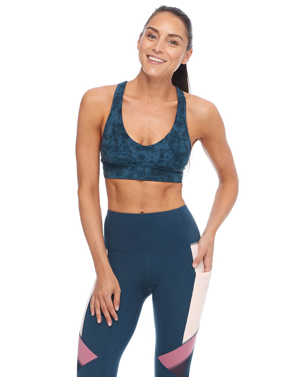 Adagio Equanimity Medium-Support Sports Bra - Full Moon