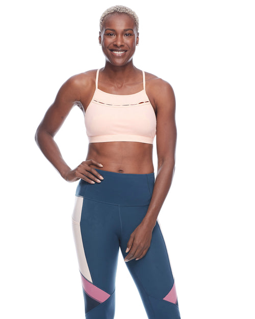 Legato Light-Support Sports Bra - Seashell