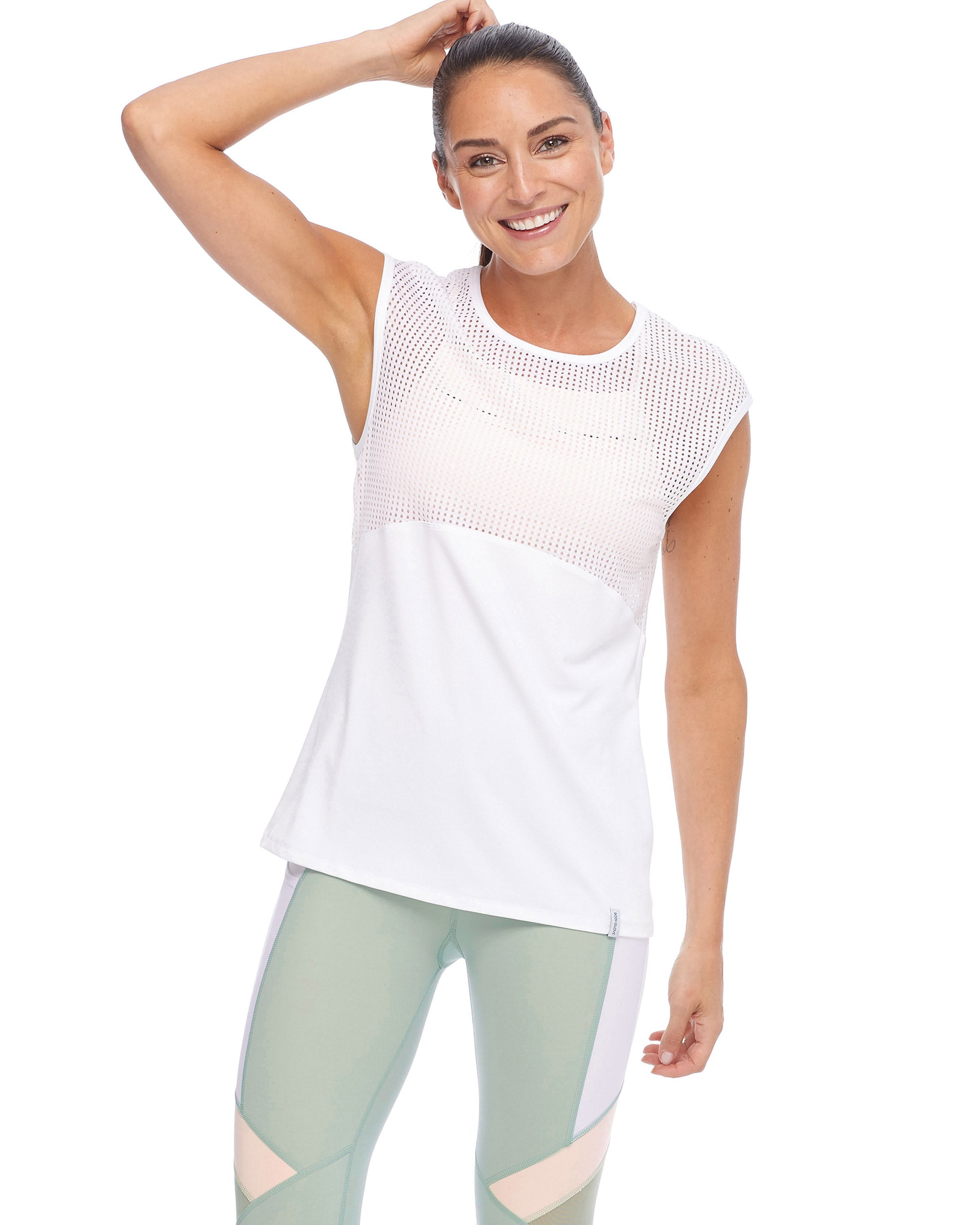 Hemera Lightweight T-Shirt Top - Snow