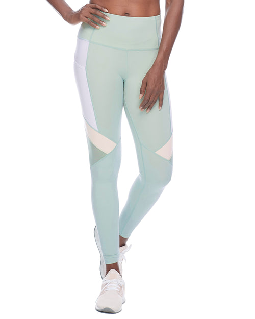Inari Performance-Fit Legging - Pale Pine