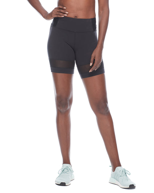 Mercury Pintuck Performance-Fit Shorts - Black