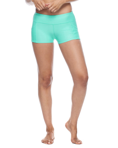 Smoothies Rider Cross-Over Shorts - Sea Mist