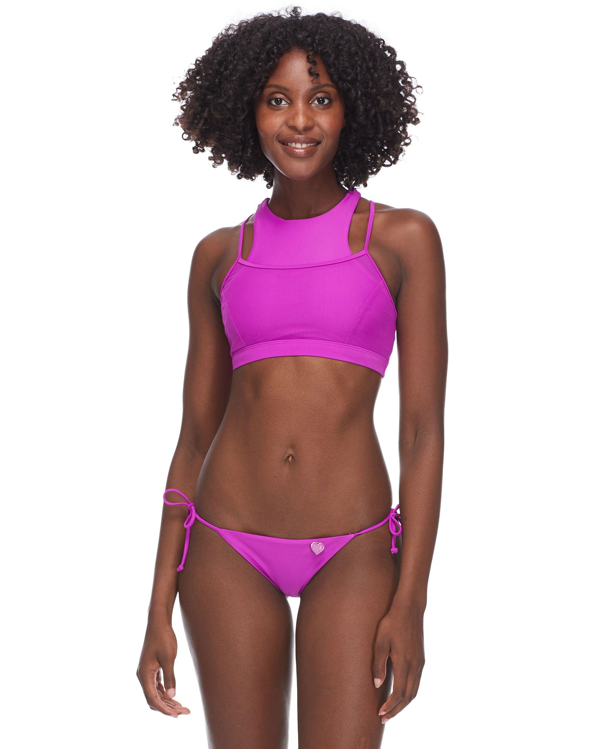 Diversion Cross-Over Sports Bra - Magnolia