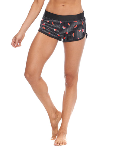 Essence Pulse Cross-Over Shorts - Black