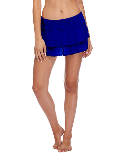 Smoothies Lambada Skirt Cover Up - Abyss