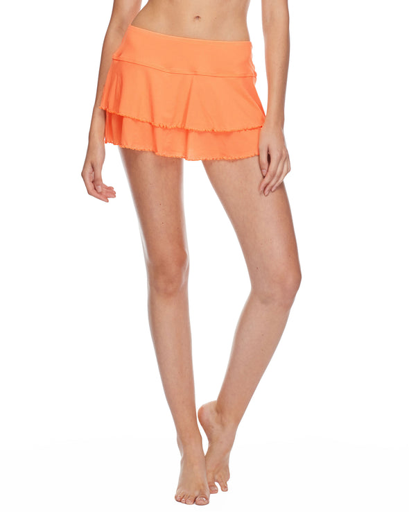Smoothies Lambada Skirt Cover Up - Mango