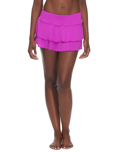 Smoothies Lambada Skirt Cover Up - Magnolia