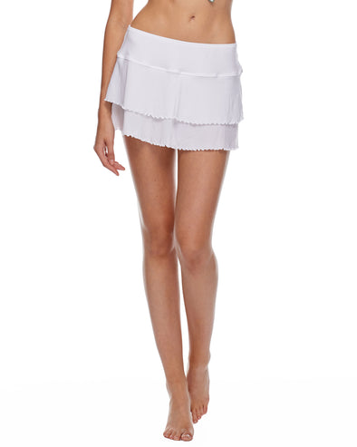 Smoothies Lambada Skirt Cover Up - Snow
