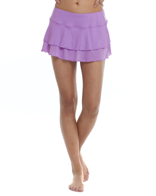 Smoothies Lambada Skirt Cover-Up Bottom - Borealis