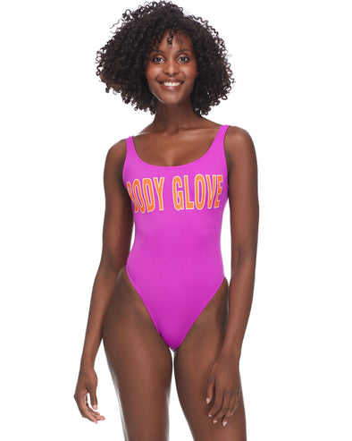 Smoothies The Look One-Piece Swimsuit - Magnolia