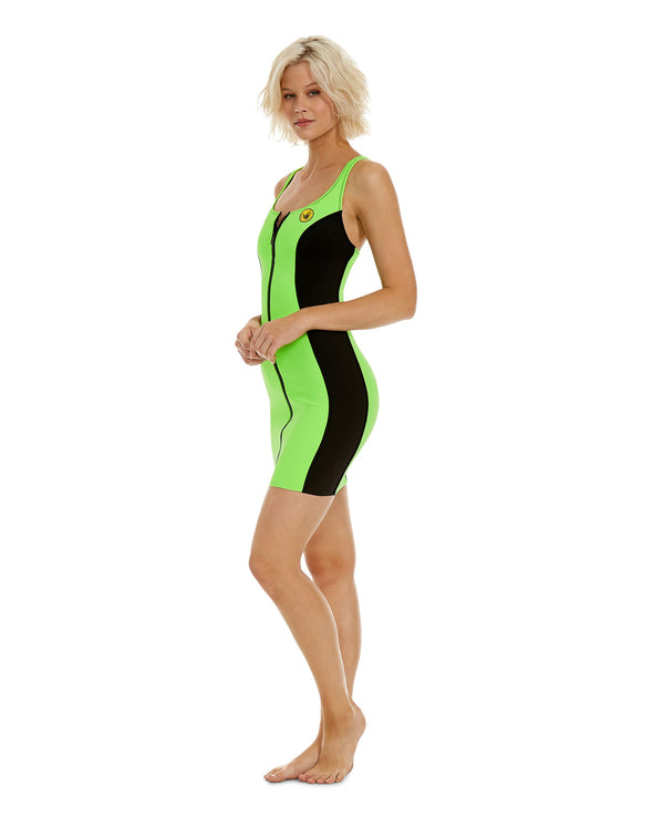 '80s Throwback Simply Irresistible Dress - Neon Green