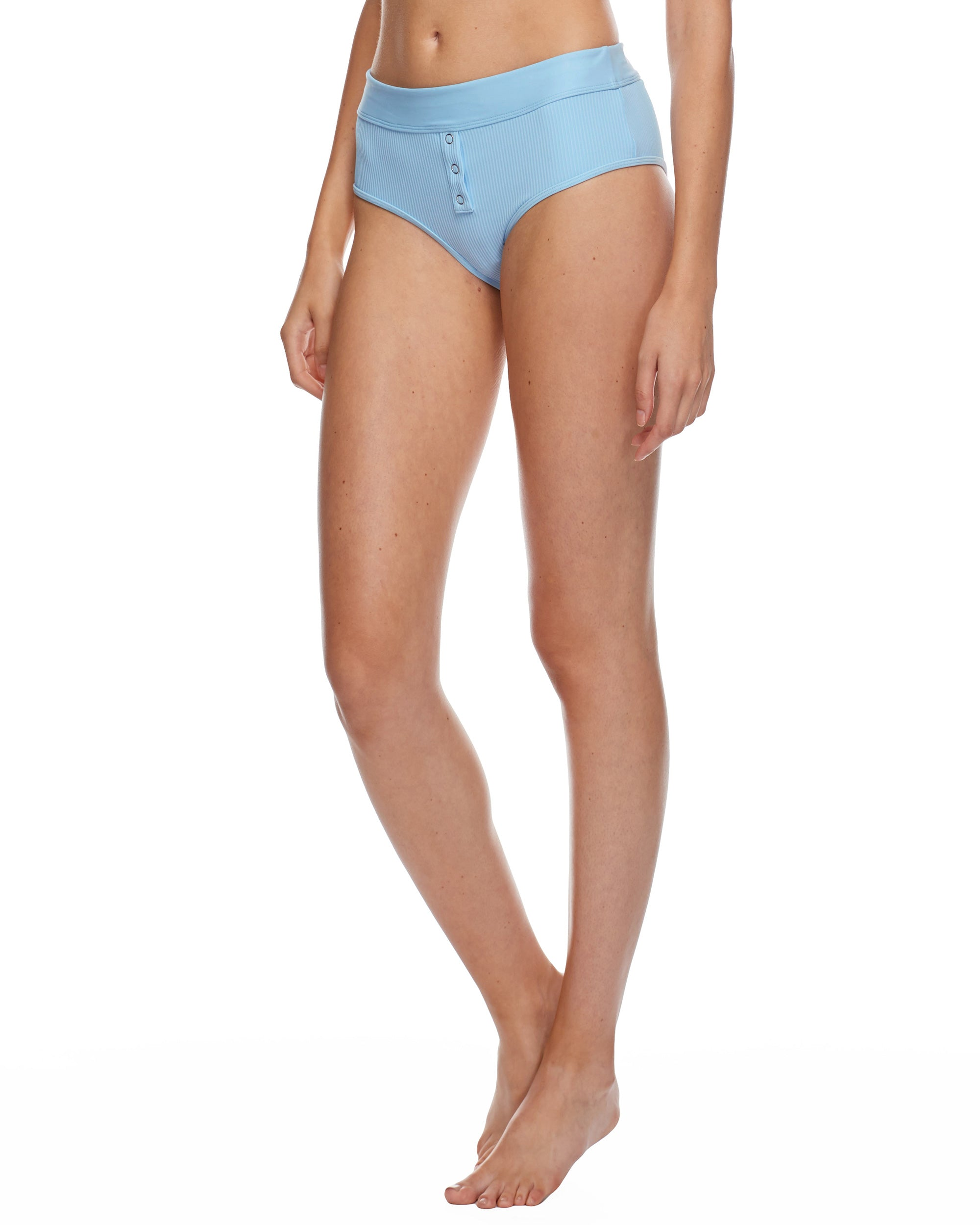 Ibiza Retro Swim Bottom - Angel