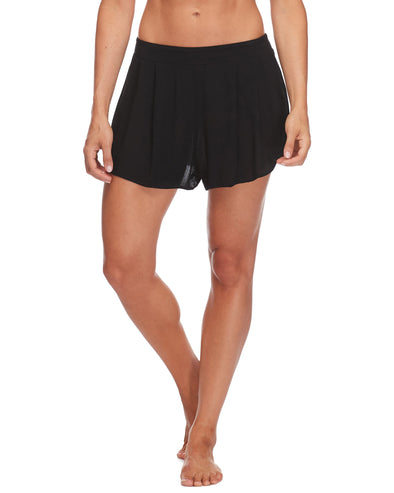 Amber Cover-Up Short - Black