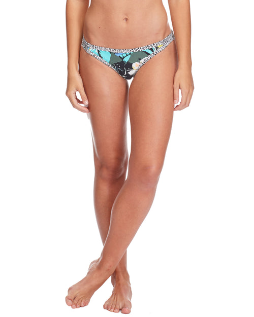 Oahu Flirty Surf Rider Swim Bottom - Cactus