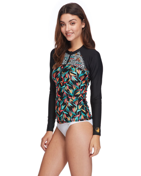 Hang Loose Push It Rashguard - Black