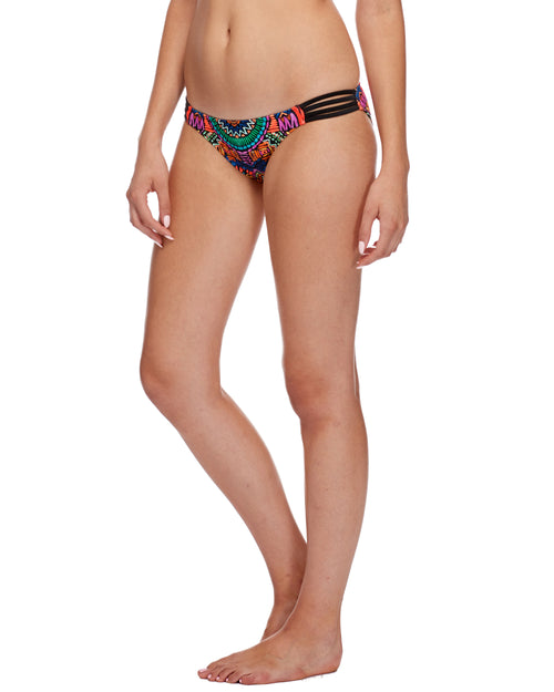 Karma Flirty Surf Rider Swim Bottom - Multi