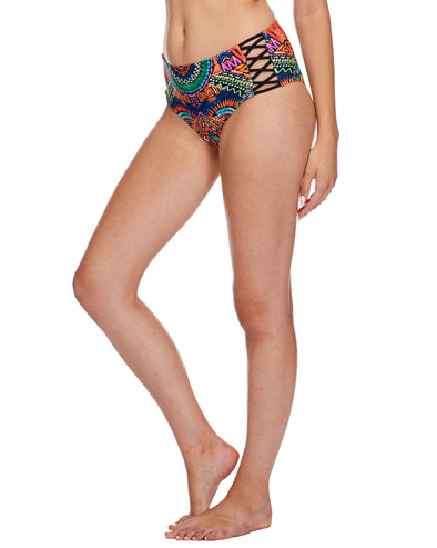 Karma Retro Swim Bottom - Multi