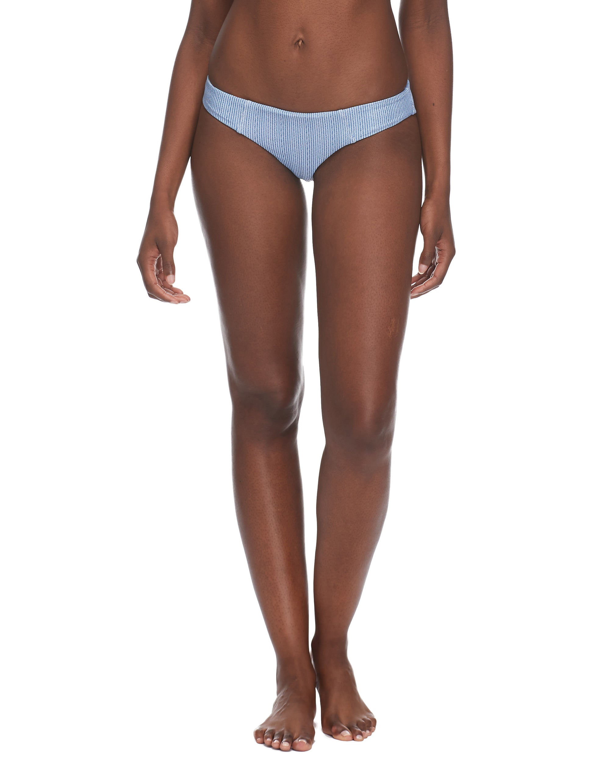Wild Eclipse Surf Rider Swim Bottom - Denim