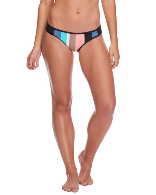Stripe it Up Surf Rider Swim Bottom - Multi