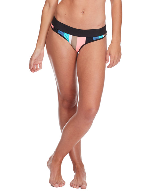 Stripe it Up Lola Swim Bottom - Multi