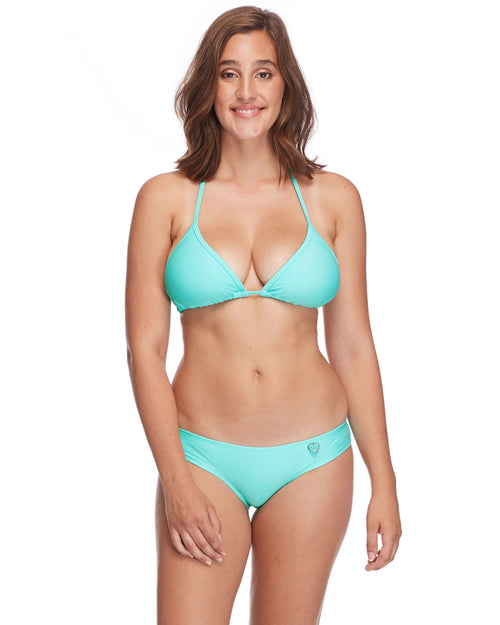 Smoothies Dita D-Cup Bikini Top - Sea Mist