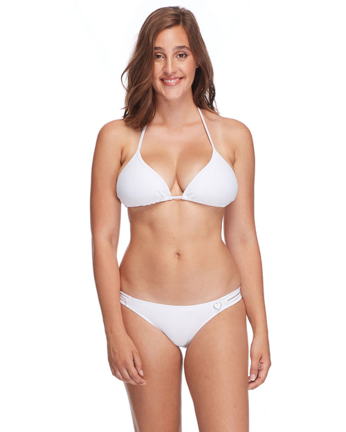 Smoothies Dita D-Cup Bikini Top - Snow