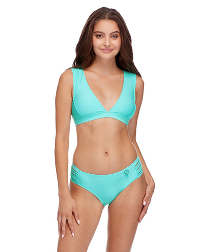 Smoothies Rumor Bikini Top - Sea Mist