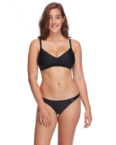 Smoothies Drew D-E Cup Swim Top - Black