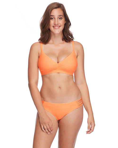Smoothies Drew D-E Cup Swim Top - Mango