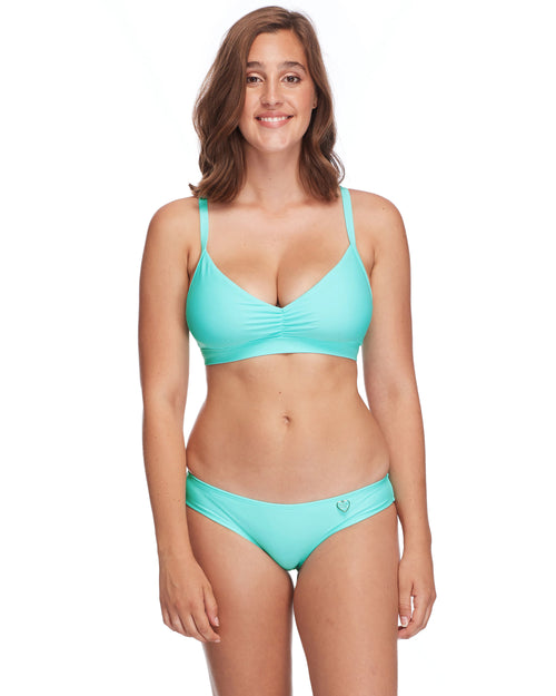 Smoothies Drew D-F Cup Swim Top - Sea Mist