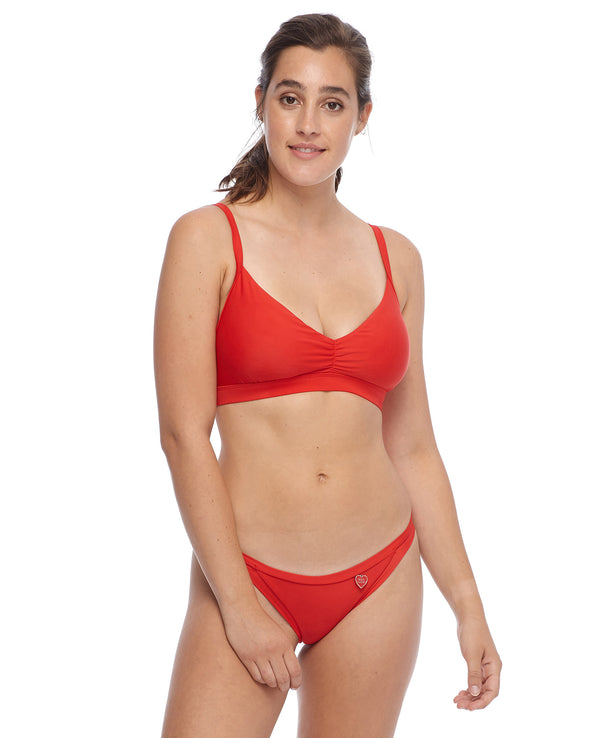Smoothies Drew D-F Cup Swim Top - True