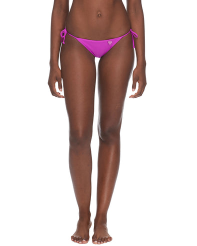 Smoothies Side Tie Iris Swim Bottom - Magnolia