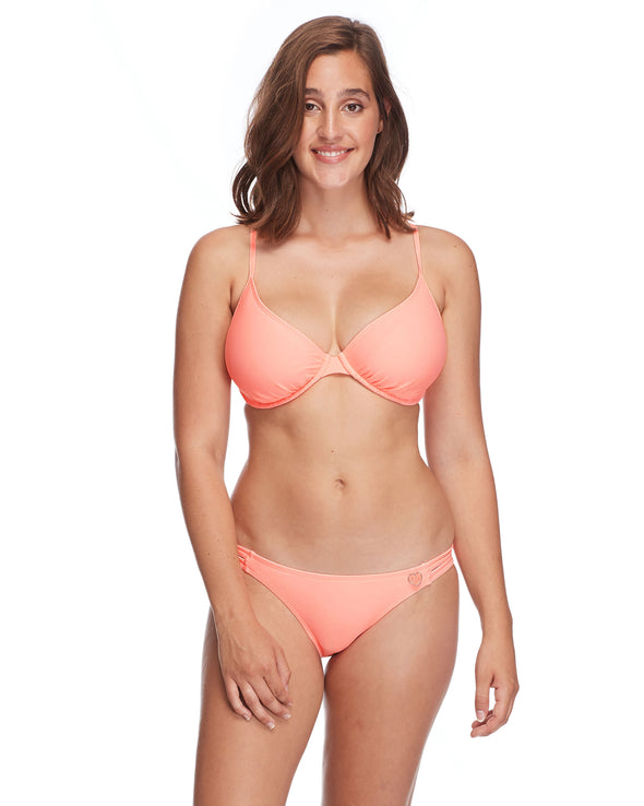 Smoothies Solo D-F Cup Bikini Top - Splendid