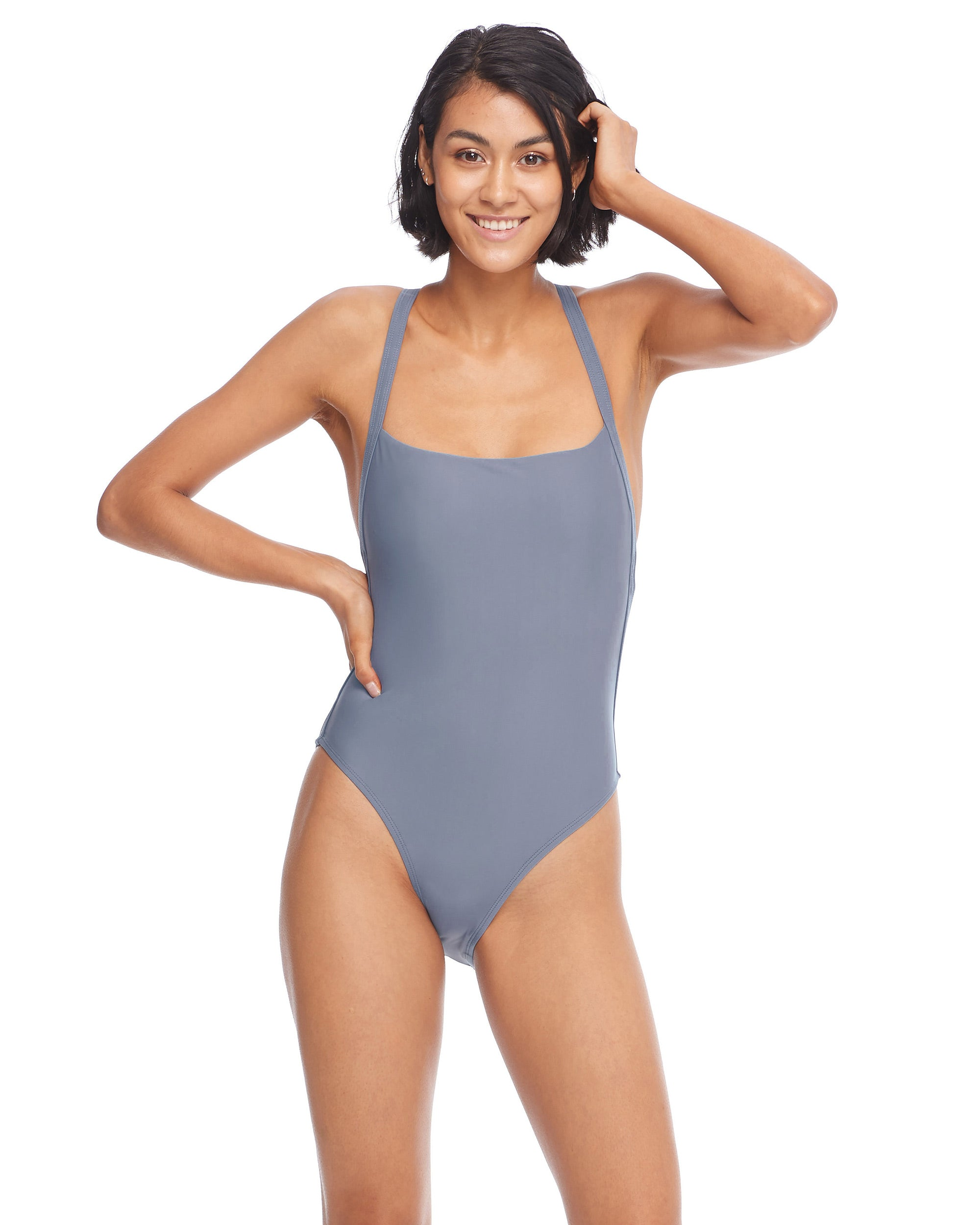Smoothies Electra One-Piece Swimsuit - Storm
