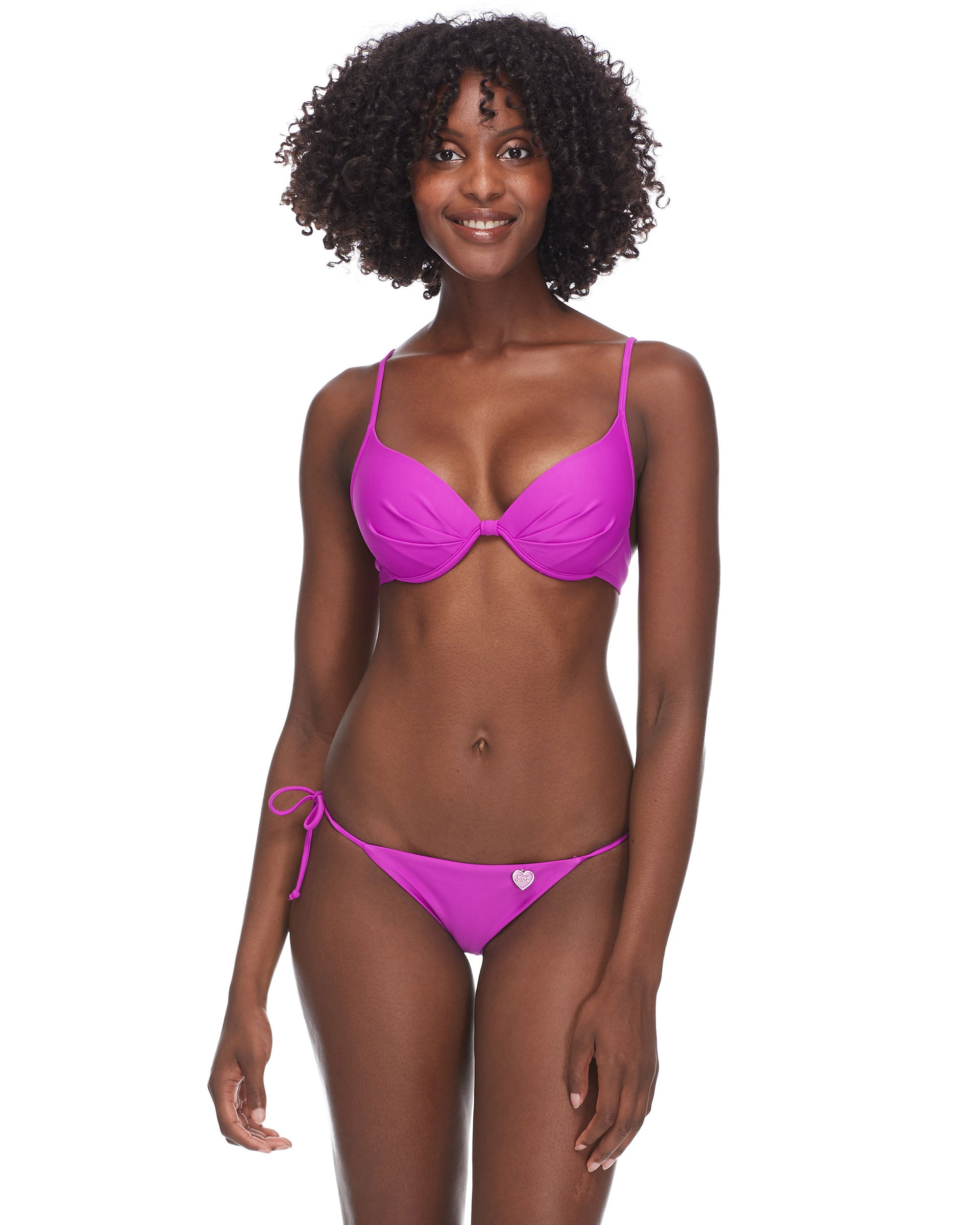 Smoothies Greta Swim Top - Magnolia