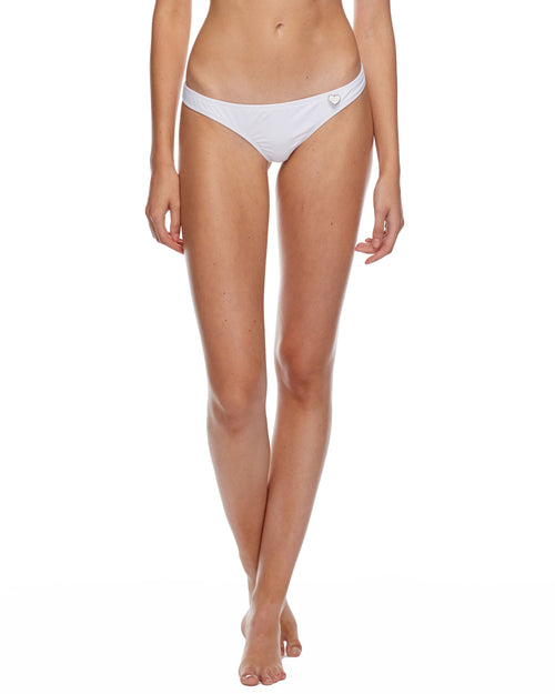 Smoothies Thong Swim Bottom - Snow
