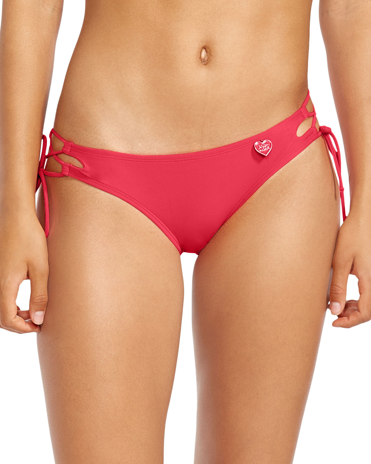 Smoothies Tie Side Mia Swim Bottom - Diva