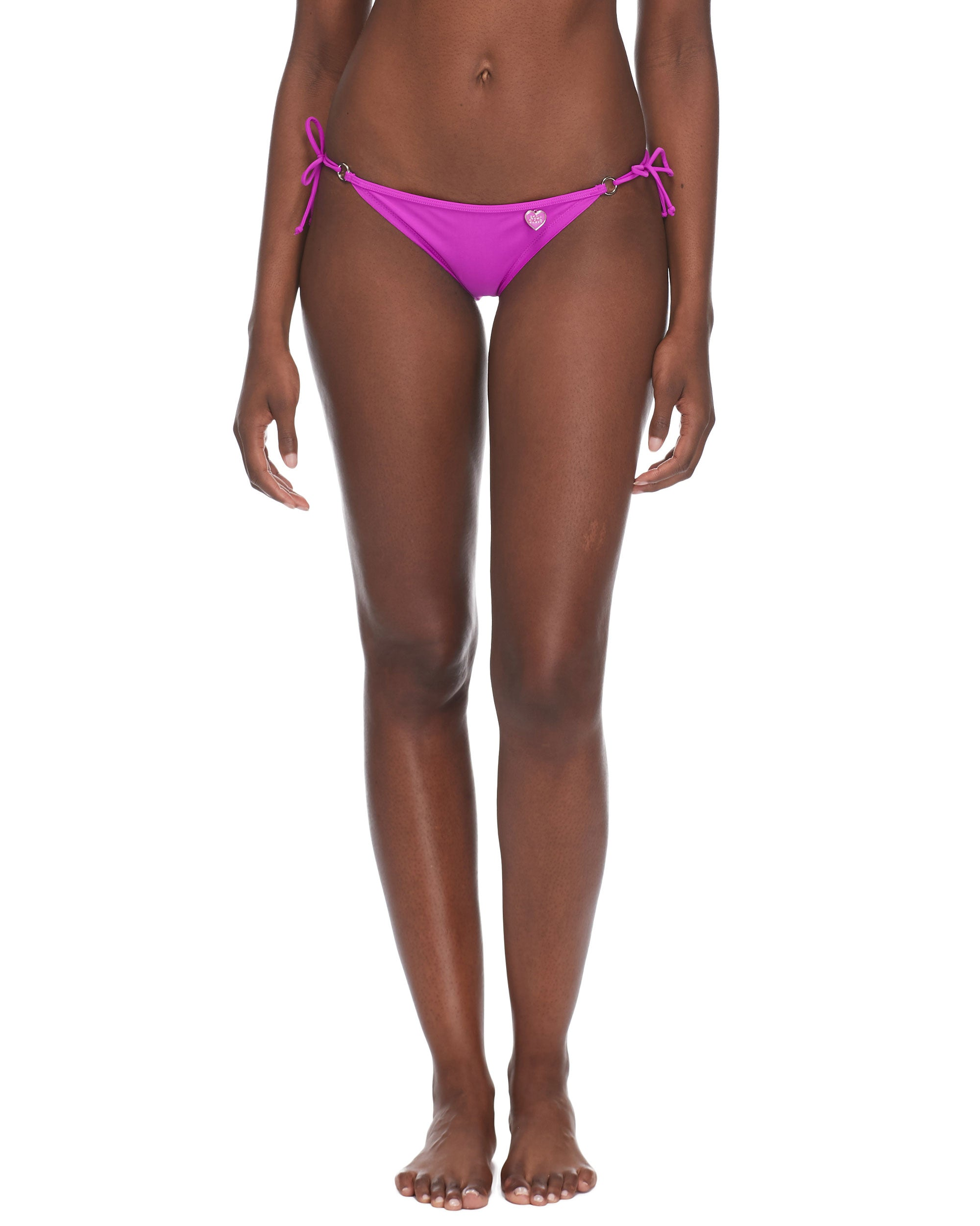 Smoothies Brasilia Side-Tie Bikini Bottom - Magnolia
