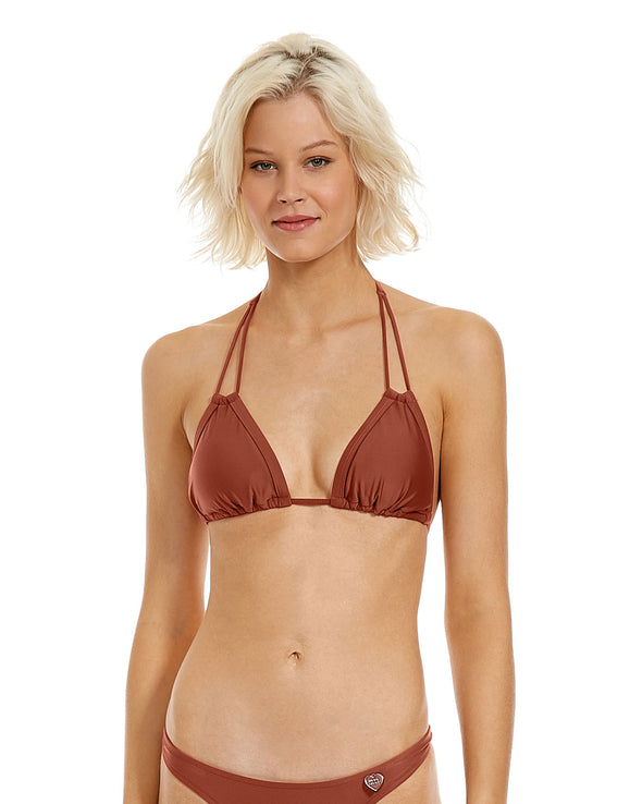 Smoothies Aida Swim Top - Terracotta