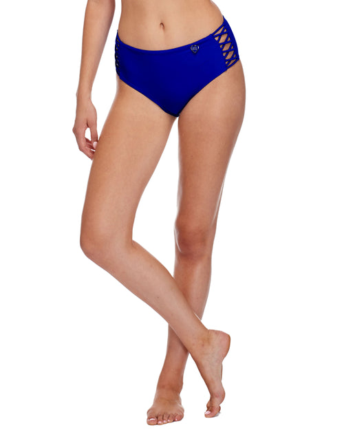 Smoothies Retro Swim Bottom - Abyss
